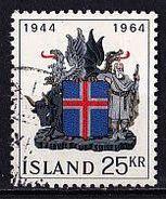 ISLAND Mi. Nr. 380 O (A-3-1) - 1944-... Republik