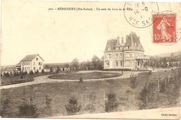 Cpa De Héricourt.un Coin Du Haut De La Ville.1911 - France