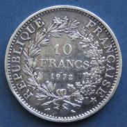 """Pièce De Monnaie 10F """" Hercule """" 1972  - Argent - K. 10 Francs"""