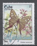 Cuba 1991. Scott #3287 (U) Butterfly, Chioides Marmorosa * - Cuba
