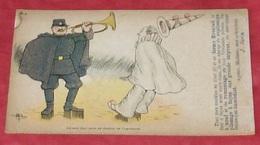 Carte Publicité : Grande Fabrique De Plissés :::: Militaires - Clowns - Illustrateurs  ---------   386 - Publicidad