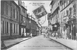 Carte Postale Ancienne  De BAR SUR SEINE-Rue Thiers - Bar-sur-Seine