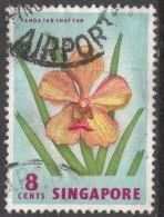 Singapore. 1962-66 Definitives. 8c Used. SG 68 - Singapore (1959-...)