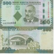 (B0645) TANZANIA, 2011 (ND). 500 Shilingi (Shillings). P-40. UNC - Tanzanie