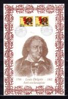 """Bel Encart 1er Jour N°té / Soie Rare (517/700) Edit° A.M.I.S. De 2002 """" LOUIS DELGRES """". 2 X N° YT 3491. Parf état. FDC - Non Classés"""