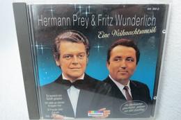 """CD """"Hermann Prey & Fritz Wunderlich"""" Eine Weihnachtsmusik, Mit Der Weihnachtsgeschichte Gelesen Von Will Quadflieg - Christmas Carols"""