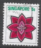 Singapore. 1973 Flowers And Fruits. 5c Used. SG 213 - Singapore (1959-...)