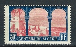 """YT 263 """" Centenaire De L´Algérie Française """" 1930 Neuf**"""
