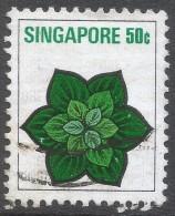 Singapore. 1973 Flowers And Fruits. 50c Used. SG 219 - Singapore (1959-...)