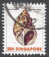 Singapore. 1977 Shells, Fish & Crustaceans. 25c Used. SG 294 - Singapore (1959-...)