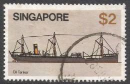 Singapore. 1980 Ships. $2 Used. SG 374 - Singapore (1959-...)