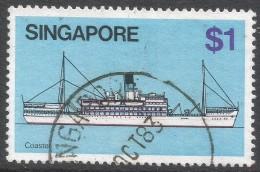 Singapore. 1980 Ships. $1 Used. SG 373 - Singapore (1959-...)
