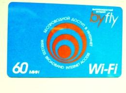 Phone Card From Belarus 60 Min. Wi-fi Byfly - Belarus