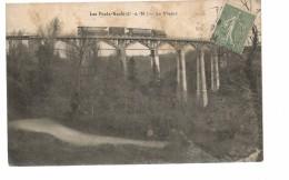 CPA, Les Ponts Neufs , Le Viaduc , Animée D'un Train A Vapeur , Ed. K.S.1924 - France