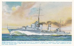 HM.S. SOMALI - Warships