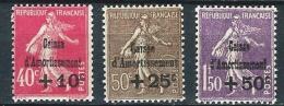 """FR YT 266 à 268 """" Caisse D'amortissement """" 1930 Neuf** - Cassa Di Ammortamento"""
