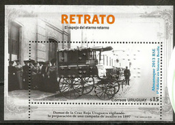 URUGUAY: 1 Er Almanach En Braille (tradicional Almanaque Edicion 2013). Bloc-feuillet Neuf ** - Medicina