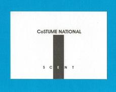 Cartes Parfumées Carte SCENT De COSTUME NATIONAL - Perfume Cards