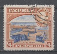 Cyprus 1938. Scott #143 (U) Ruins Of Vouni Palace * - Chypre (République)