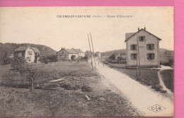 Colombier-Fontaine  - Route D'Etouvans - France