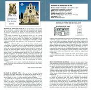 MILLÉNAIRE DU COUVENT DE OÑA BURGOS   - DOCUMENT INSTRUCTIF DE L´ÉMISSION DE TIMBRE ESPAGNE - España