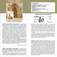 CATHÉDRALE DE BILBAO - DOCUMENT INSTRUCTIF DE L´ÉMISSION DE TIMBRE ESPAGNE - España