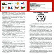 AUTONOMIE - BOUCLIERS ET CARTES - DOCUMENT INSTRUCTIF DE L´ÉMISSION DE TIMBRE ESPAGNE - España