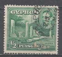 Cyprus 1938. Scott #144 (U) Columns At Salamis * - Chypre (République)