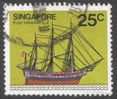 Singapore. 1980 Ships. 25c Used. SG 369 - Singapore (1959-...)