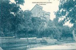 42 - CHALMAZELLE - LOIRE  - LE CHATEAU -  VOIR SCANS - Non Classés
