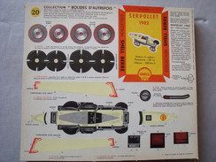 Collection Bolides D'Autrefois Shell Berre N° 20  Serpollet  1902 - Autos