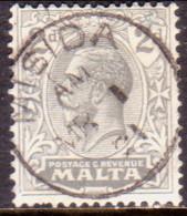 MALTA 1921 SG #100 2d Used Wmk Mult. Script CA - Malta (...-1964)