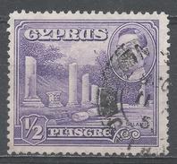 Cyprus 1951. Scott #164 (U) Columns At Salamis * - Chypre (République)