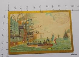 """CHROMO """"Le Canot De L'amiral""""-A LA PENSéE-F.MERCIER-Lingerie Pour Dames - Chromos"""