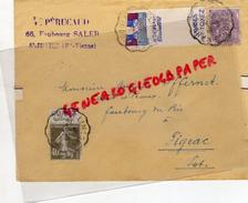 87 - SAINT JUNIEN - 46-FIGEAC- AUGUSTE IFFERNET- GANTERIE GANTS- PERUCAUD -40C GREY POUPON CONDIMENTS-10 CENTIMES -1931 - Francia