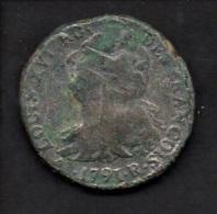 France - 2 Sols - Louis XVI - 1791 R (verso Voir Scan) - 1789 – 1795 Monedas Constitucionales