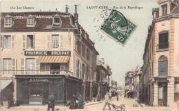 SAINT CERE  -  Rue De La République ( Tres Animée) Edts Du Petit Paris - Saint-Céré