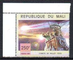 Mali 1438 Comète De Halley , Ballon Dirigeable 1910 - Astronomy
