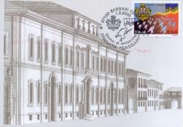 """Italia 2005 FDC Brigata """"Sassari"""" Su Cartolina Scuola Militare Teuliè Di Milano Con Affrancatura Meccanica Specimen - Prima Guerra Mondiale"""
