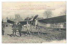 TARBES (Htes Pyrénées) Aviation Raid Pau Tarbes 1911 - Les Aviateurs Morin Et Conneau Près De Leurs Monoplans Blériot - Tarbes