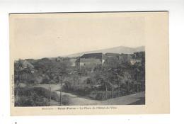 Réunion - Saint-Pierre  La Place De L'Hôtel De Ville - Saint Pierre
