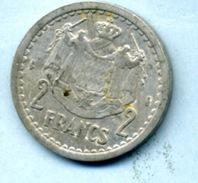 1945  2 Francs ALUMINIUM - Monaco