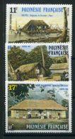 POLYNESIE ( POSTE ) : Y&T N°  299/301  TIMBRES  NEUFS  SANS  TRACE  DE  CHARNIERE  , A  VOIR . - Polynésie Française