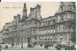 PARIS L HOTEL DE  VILLE CPA - Francia