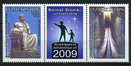 2009 - UZBEKISTAN  - Catg. Mi. 805/806 - NH - (AB 2185A - 8) - Uzbekistan