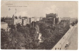 FB22     LEIPZIG , Schwanenteich Mit Neuem Theater , 1905 - Leipzig