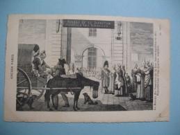 CPA   Histoire De L´Ancien Paris - Geschiedenis