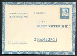 MARTIN LUTHER BUND FP10 Funklotterie-Postkarte ** 1963 - Theologen