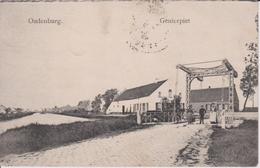 Oudenburg. Genierpiet (sic.). Genever Piet Geneverpiete Ophaalbrug Oudenburgs Vaardeken Vaartstraat Zwaanhoek. TOPKAART! - Oudenburg