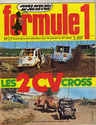 Formule 1 - N°17 - Les 2 CV Cross (4 Pages Plus Couverture Nombreuses Photos) - Libros, Revistas, Cómics